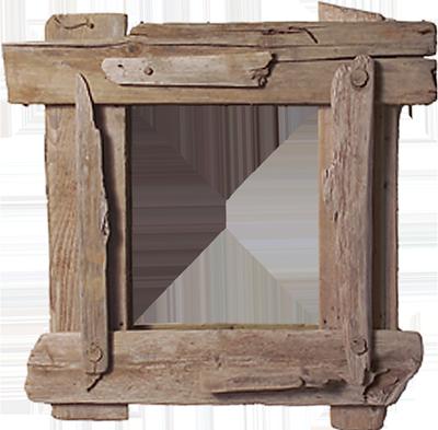 cadre bois flotte 02 400x393 la cabane du marais. Black Bedroom Furniture Sets. Home Design Ideas